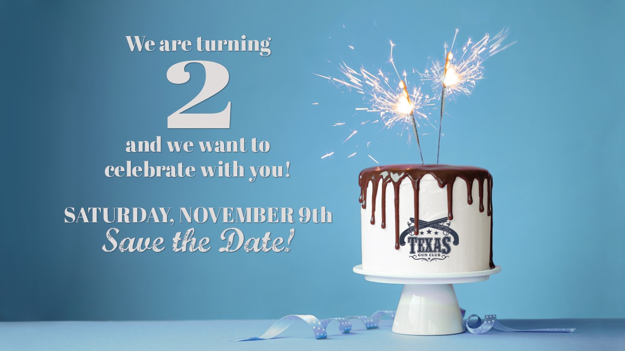 Texas Gun Club is turning 2