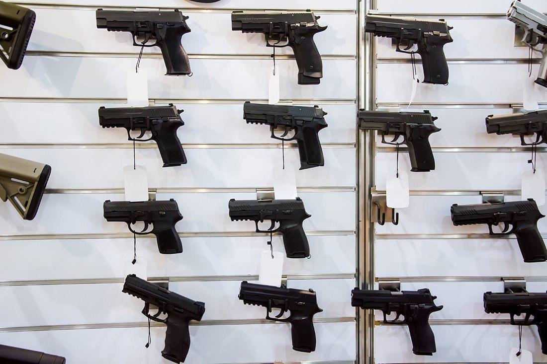 Texas Gun Club Pistols at gun store