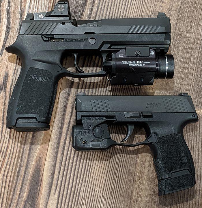 sig p320 rx and sig p365