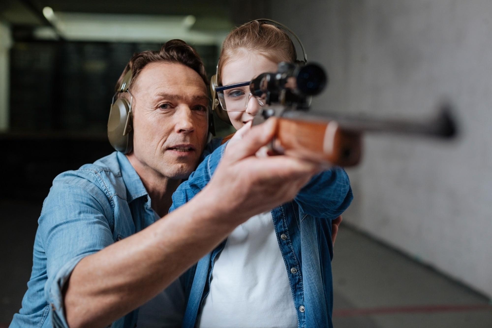 learn to shoot a gun