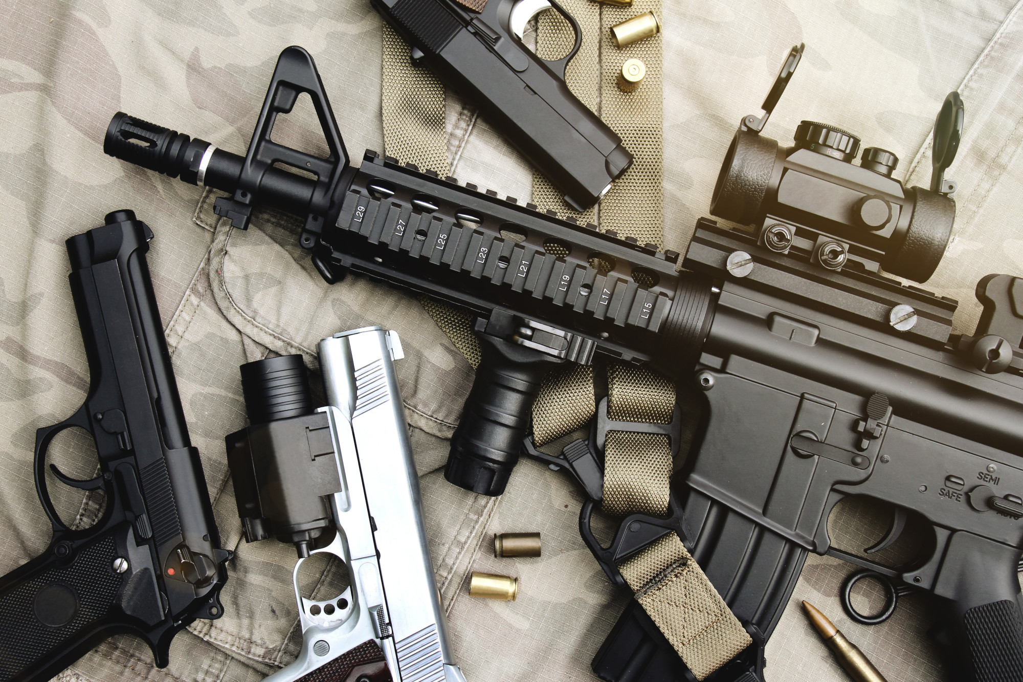 The Most Common Types of Guns Explained